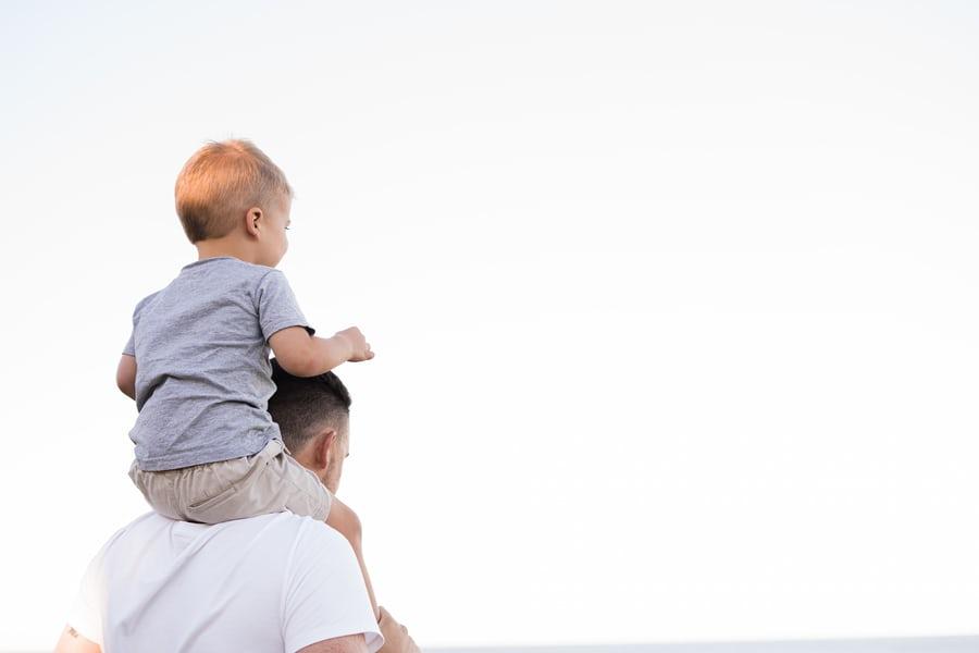 Vader-met-kind