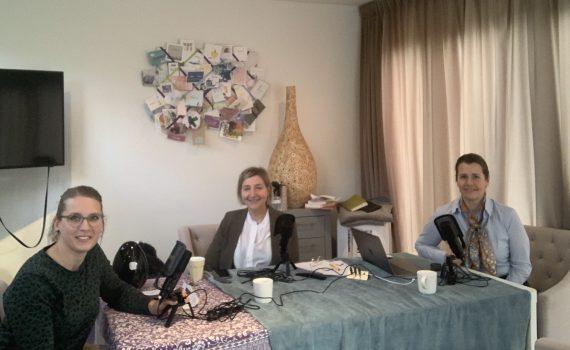 Podcast in de maak